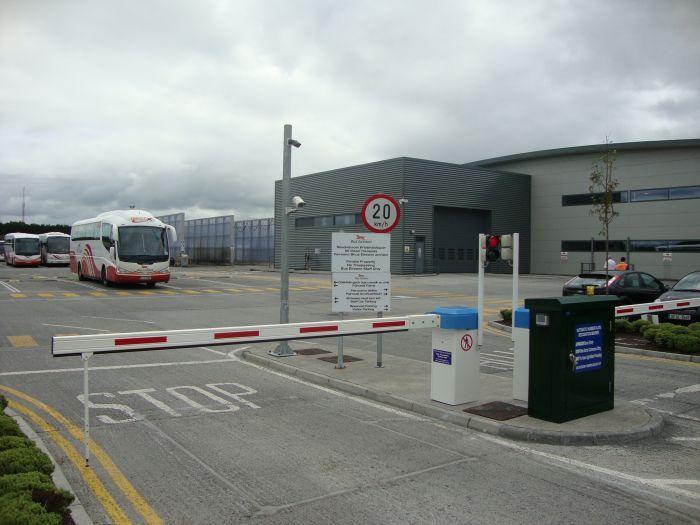 Barrier plus ANPR at Bus Eireann Galway